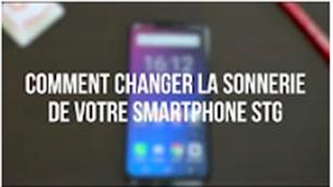Comment changer la sonnerie de votre smartphone stg