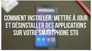 Comment installer la Galerie Photos STG Telecom sur votre smartphone STG