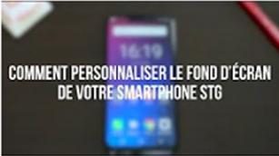 Comment personnaliser le fond d'écran de votre smartphone STG